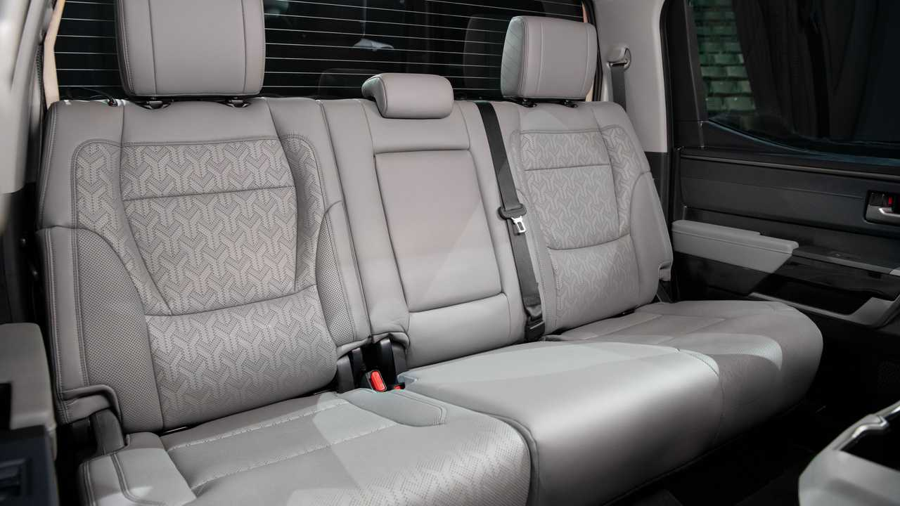 2022 Toyota Tundra Limited TRD Off-Road Interior Rear Seat